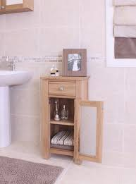 baumhaus mobel oak 1 door 1 drawer bathroom cabinet small baumhaus mobel oak drawer