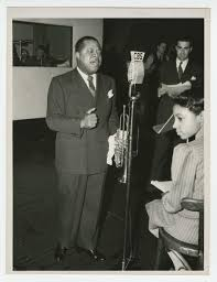 louis armstrong smithsonian music photograph of louis armstrong recording at the cbs studio in new york