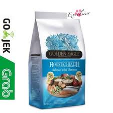 <b>Golden Eagle Holistic Health</b> Salmon & Oatmeal Formula 12 kg Mg ...