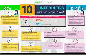 linkedin tips that can get you hired memeburn infographic 10 linkedin tips that can get you hired