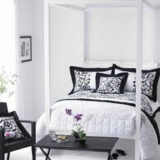 wonderful bedroom decor ideas in black and white home design bedroomamazing black white themed bedroom