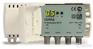Телевизионный <b>модулятор terra MT47</b> купить в Иркутской ...