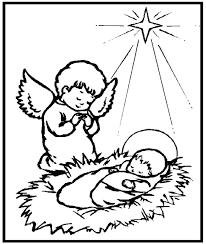 Resultado de imagem para imagem anjo natal para colorir