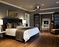 dark grey walls light grey ceiling with brown accents bedroom gray walls