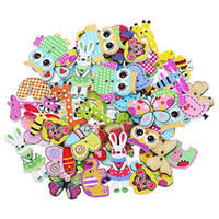 Wooden Shaped Buttons Canada