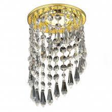 Встраиваемый <b>светильник Ambrella light</b> Crystal K110 CL/CH ...