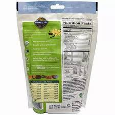 Garden of Life, <b>Organic Plant Protein</b>, <b>Grain</b> Free, Smooth Vanilla, 9