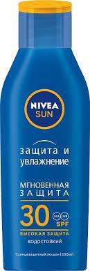 <b>Nivea Sun</b> Защита и <b>увлажнение</b> Солнцезащитный <b>лосьон</b> для ...