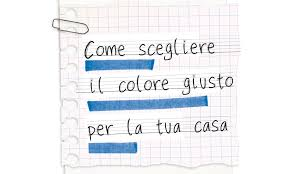 Colori Per Dipingere Le Pareti Del Bagno : Come individuare il colore per la tua casa andrea castrignano
