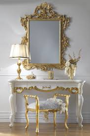 luxury furniture the high end italian dressing table and mirror set is a beautiful statement pairing which adds style to any setting available at beautiful high modern furniture brands full