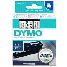 Buy the <b>Dymo S0720680</b> TAPE <b>D1</b> 9MMX7M BLK/WHT ( <b>S0720680</b> ...