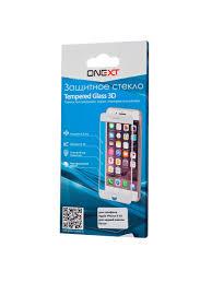 <b>Защитное стекло Onext для</b> телефона Apple iPhone X 3D для ...
