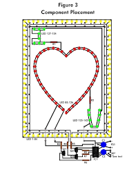 component  how to make circuit diagram  led flashing heart    led flashing heart schematic design how to make circuit diagrams on computer di  full