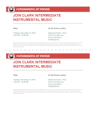 clark intermediate band page  panda express fundraiser flyer 12 15 15