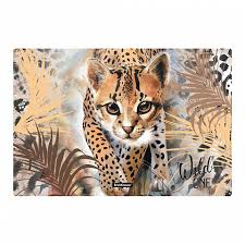 <b>Подкладка настольная</b> пластиковая <b>ErichKrause</b>® Wild Cat, А3 (в ...