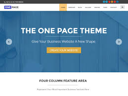 30 best one page wordpress themes 2017 athemes one page