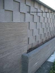 tembok batu alam minimalis: Pagar tembok minimalis 81 tips membuat desain pagar tembok