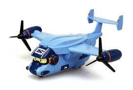 <b>Трансформер Robocar Poli Silverlit</b> Самолет Кэри, со светом и ...