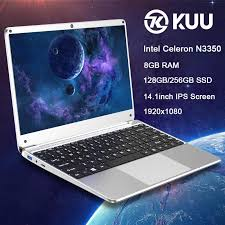 <b>KUU</b>-<b>Kbook</b> 14.1inch <b>Intel</b> Celeron Processor N3350 <b>Laptop</b> 8GB ...