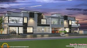Row house design and plans   Kerala home design and floor plansRow house plan