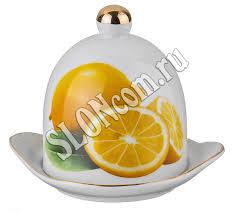 <b>Лимонница с крышкой</b> L 12 см H 11 см   Сахарницы, лимонницы ...