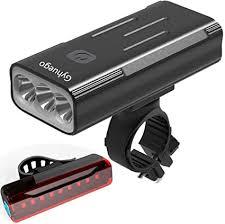 Gyhuego Bike Light USB Rechargeable, 4000 Lumen ... - Amazon.com