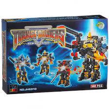 <b>Конструктор DRAGON TOYS</b> JH6910 Трансформер-робот ...