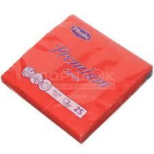 <b>Салфетки</b> бумажные Plushe красные 25 шт, 33х33 см в Москве ...