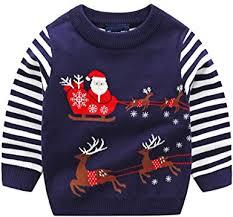 Boys Kids Children Knitwear <b>Christmas Xmas</b> Knitted Novelty, Retro ...