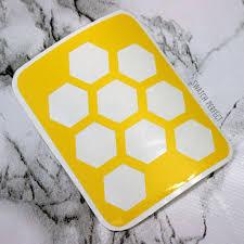 <b>Honeycomb</b> - 9 Pan Stencil – Swatch Perfect