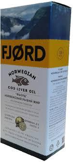 """БАД к пище FJORD """"<b>Норвежский</b> рыбий <b>жир</b>"""", из <b>печени</b> трески ..."""