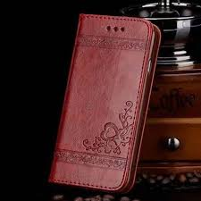 <b>Luxury Retro flip PU</b> leather Embossed leather Flower Classic case