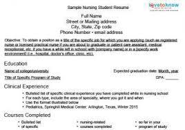nursing resume ideas download a sample nursing student resume samples