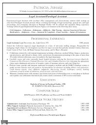 legal assistant resume samples resume format  legal assistant resume samples