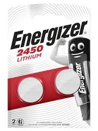 Литиевая <b>батарейка</b> типа <b>CR2450</b>, 2шт. <b>Energizer</b> 10467137 в ...