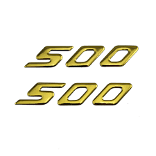 <b>KODASKIN Motorcycle 3D Raise</b> 500 Emblem Stickers Decal for ...