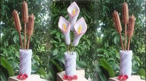 How To Make <b>3D</b> Origami <b>Flower Vase</b> V8   DIY Paper <b>Flower Vase</b> ...