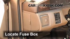 interior fuse box location cadillac seville  interior fuse box location 1992 1997 cadillac seville