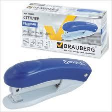 <b>Степлер №10 Brauberg</b> Original 12л с антистепл. синий
