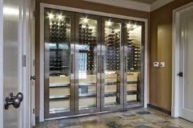 Vin de Garde <b>Custom Stainless Steel</b> Wine Cabinet - Модернизм ...