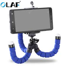 <b>OLAF Phone Holder Flexible</b> Octopus Tripod Bracket Selfie ...