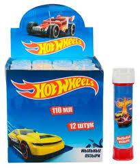 <b>Мыльные пузыри</b> 1 TOY <b>Hot</b> Wheels, 110 мл Т11461 — купить по ...