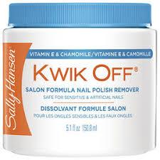 <b>Sally Hansen</b> Kwik Off <b>Salon Formula</b> Nail Polish Remover - 150.8 ...