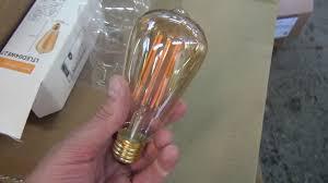 <b>Филаментная диммируемая лампа</b> Эдиссона Е27 - YouTube