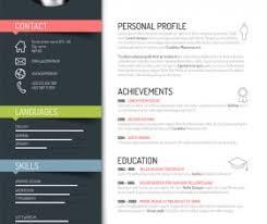 resume vector for    creative resume template design vectors
