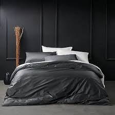 <b>Solid Color</b> Egyptian Cotton Duvet Cover Luxury Bedding Set <b>High</b> ...