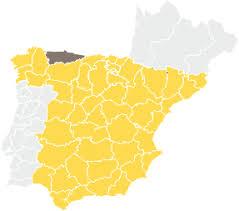 Bildergebnis für principado de asturias mapa