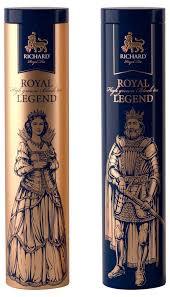 <b>Чай Richard</b> Royal Legend <b>черный</b> крупнолистовой, ж/б, 120 г ...