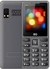 Мобильный <b>телефон BQ 2444</b> Flash, серый — купить в интернет ...