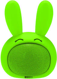 Портативная колонка <b>SBS</b>-<b>150</b> Funny Bunny, <b>салатовый</b> (IS-LS ...